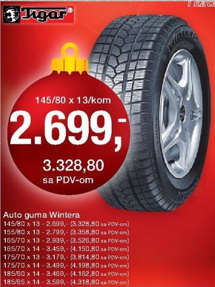 Auto guma Wintera 155/80x13