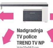 Nadgradnja TV police Trend TV NP