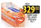 Toalet papir Peach