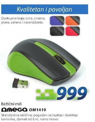Miš/pokazivač OM419G