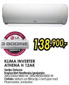 Klima inverter Athena H 12ak