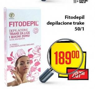 Trake za depilaciju Fitodepil