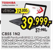 Laptop Satellite C855-1N2