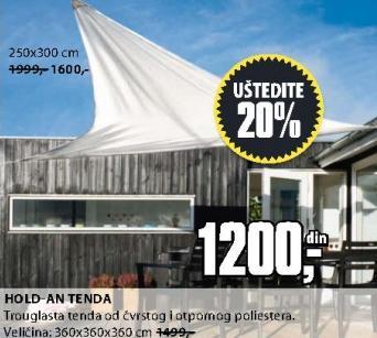 Tenda Hold-An 360x360x360