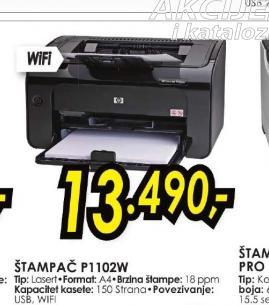 Laserski štampač P1102W