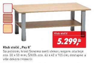 Klub sto Pay II