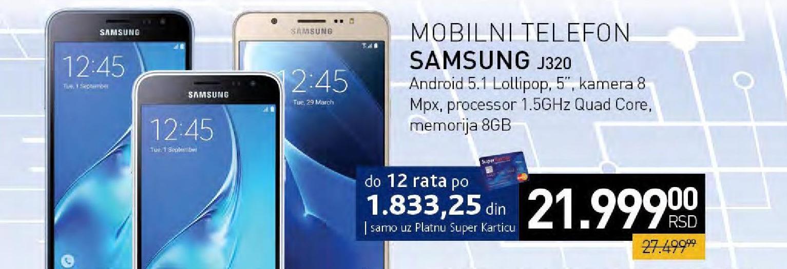 Mobilni telefon  Galaxy J320