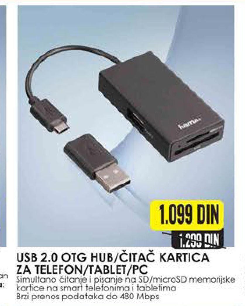 Čitač kartica USB 2.0