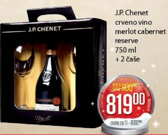 Crveno vino Cabernet