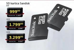 Micro Sd Kartica 8Gb