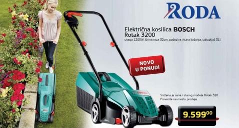 Električna Kosilica Za Travu, Rotak 3200