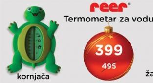 Termometar za vodu kornjača Reer