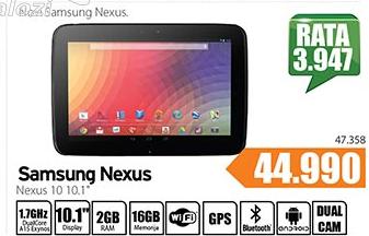 Tablet Nexus 10  10.1''