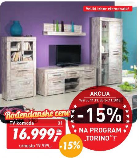 Visoka komoda Torino