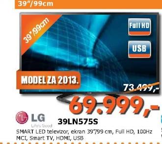 Televizor LED LCD 39LN575S