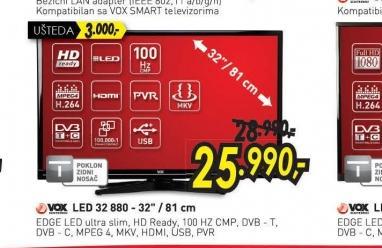 Televizor LED LCD 32 880