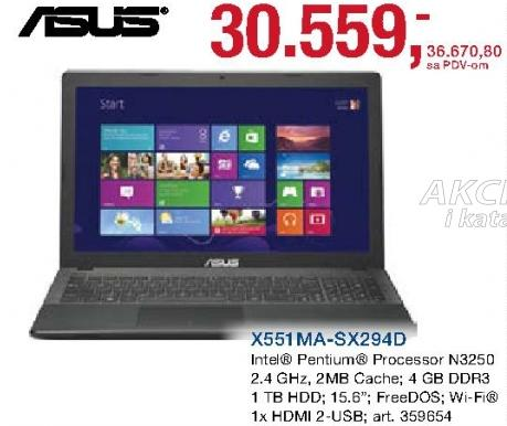 Laptop X551ma-Sx294d