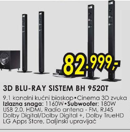 3D BLU-REY SISTEM BH 9520T