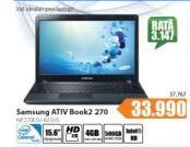 Laptop ATIV Book2 270 - NP270E5V-K01HS