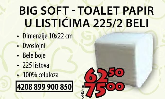 Toalet papir Big Soft