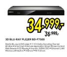 3D Blu-Ray Player BDF7500