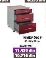 Kuhinjski element In MDF D60 F