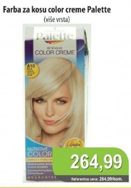 Farba za kosu  Intensive Color Creme