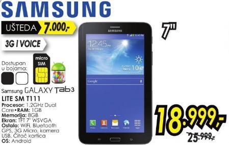 Tablet Galaxy Tab3 Lite Sm T111
