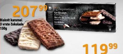 Biskvit karamel