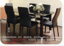 Trpezarijska stolica Avatar