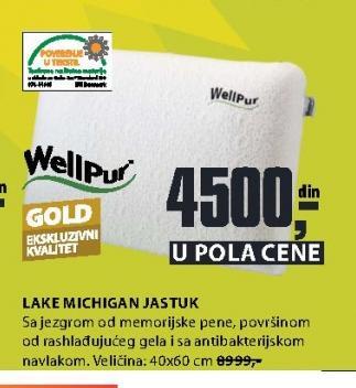 Jastuk Lake Michigan