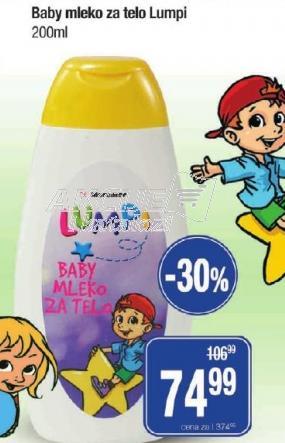 Baby mleko za telo