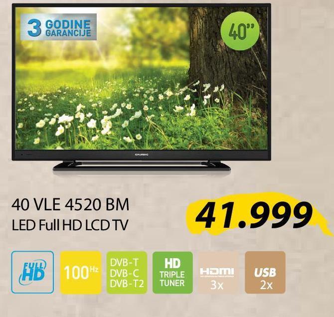 """Televizor LED 32"""" 32 VLE4520 BM"""