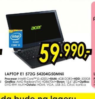 Laptop E1-572G-54204G50Mnii