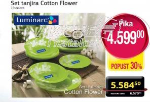 Set tanjira Cotton Flower