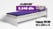 Krevet HAPPY KR90 beli