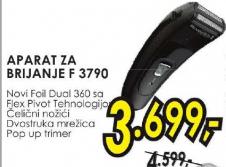 Aparat za brijanje F 3790