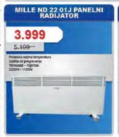 Radijator panelni