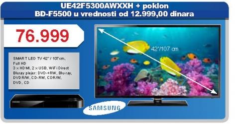 Televizor LED UE42-F5300 AWXXH