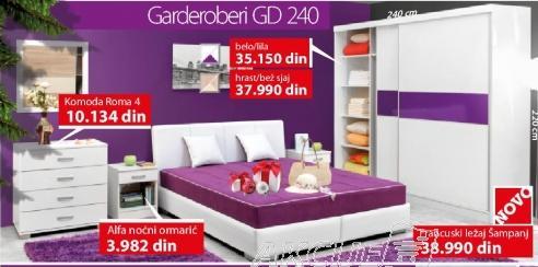 Garderober GD 240 Belo lila