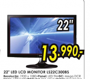 Monitor  LED LS22C300BS