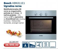 Ugradna Rerna Bosch Hbn311E1