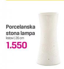 Porcelanska stona lampa
