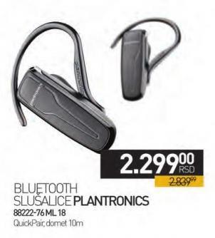 Bluetooth slušalica 88222-76 M L18