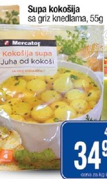 Supa kokošija sa knedlama