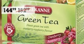 Čaj zeleni sa malinom i brusnicom