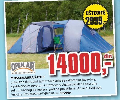 Šator OPEN AIR