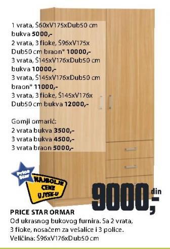 Ormar Price Star