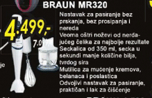 Štapni mikser MR 320