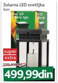 Solarna LED svetiljka